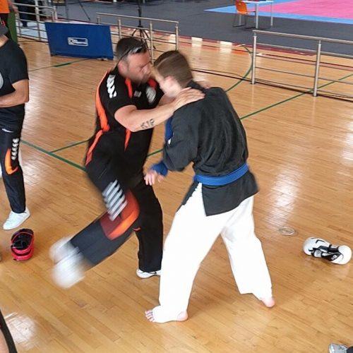 Voorbereiding gevecht olv coach René