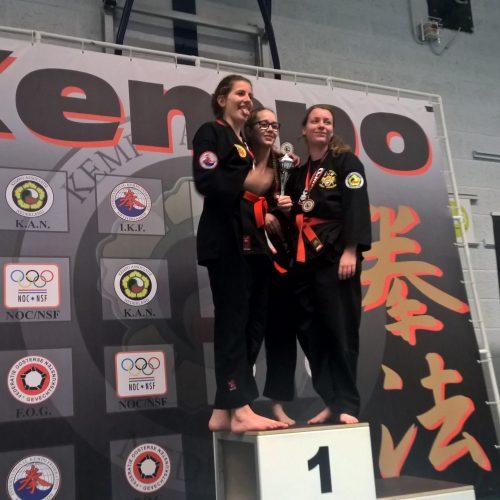 NK 2017 Bianca 3e plaats