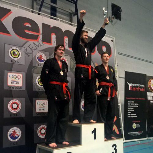 NK Michael 1e plaats Bas 3e plaats