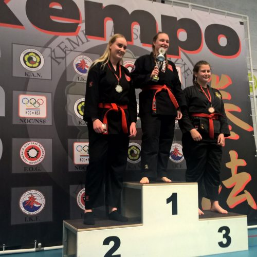 NK 2017 Carmen 3e plaats