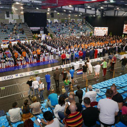 Deelnemers en publiek WK 2018
