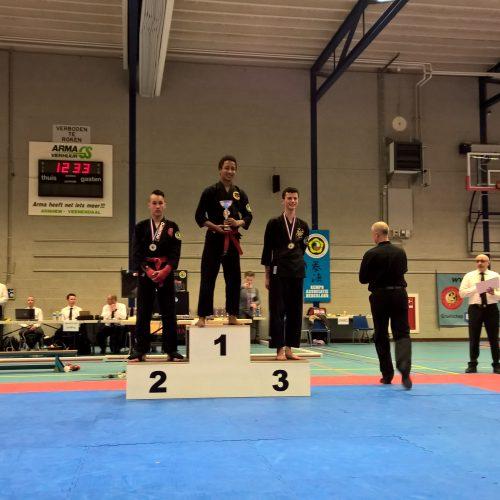 NK 2015 Steven 3e plaats
