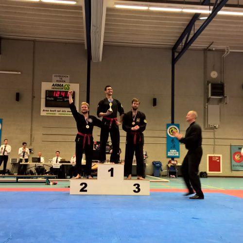 Michiel 3e plaats NK 2015