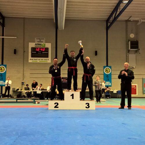 NK 2015 2e plaats Rein