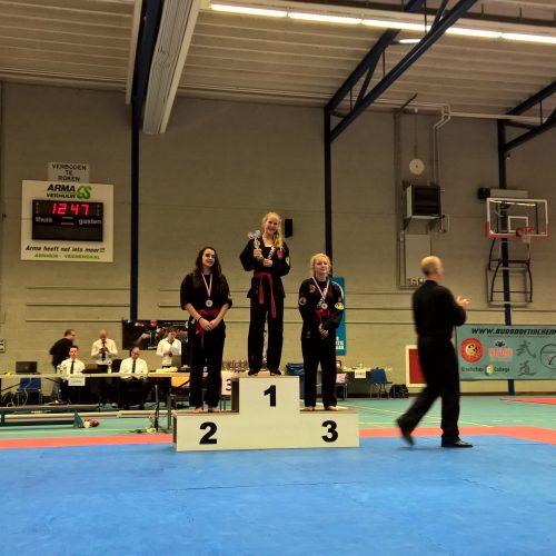 NK 2015 Julia 2e plaats