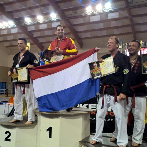 Geert 3e plaats WK Albufera